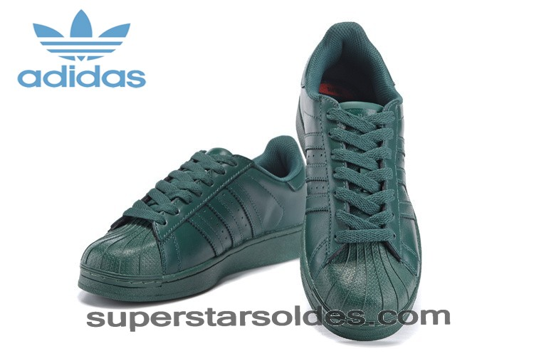 Haute Qualité Achat Homme/Femme Adidas Originals Superstar Supercolor Pharrell Williams Dark Verte Chaussures s83396 - Haute Qualité Achat Homme/Femme Adidas Originals Superstar Supercolor Pharrell Williams Dark Verte Chaussures s83396-01-6