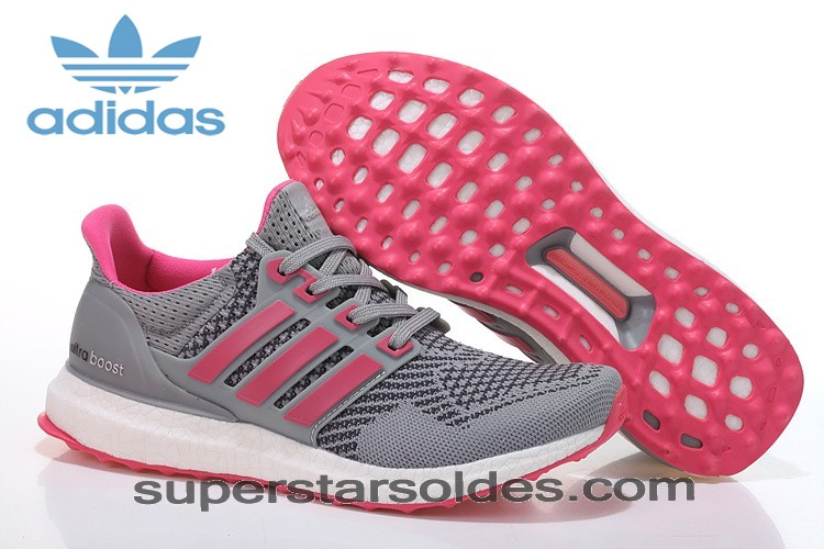 Bas Prix Boutique Adidas Running Ultra Boost Homme/Femme Chaussures Metallic Grise/Rose Vente - Bas Prix Boutique Adidas Running Ultra Boost Homme/Femme Chaussures Metallic Grise/Rose Vente-01-0