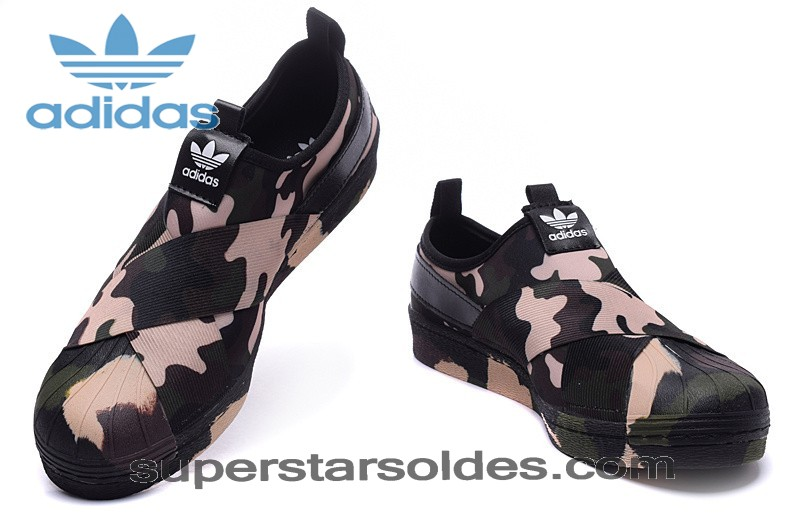Homme/Femme Adidas Originals Superstar Slip On Trainer Camo Soldes Qualité Excellente - Homme/Femme Adidas Originals Superstar Slip On Trainer Camo Soldes Qualité Excellente-01-4