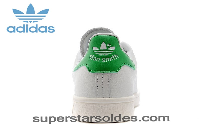 Prix d'Amis Adidas Originals The Stan Smith 2014 Homme Blanc Vert - Prix d'Amis Adidas Originals The Stan Smith 2014 Homme Blanc Vert-01-3