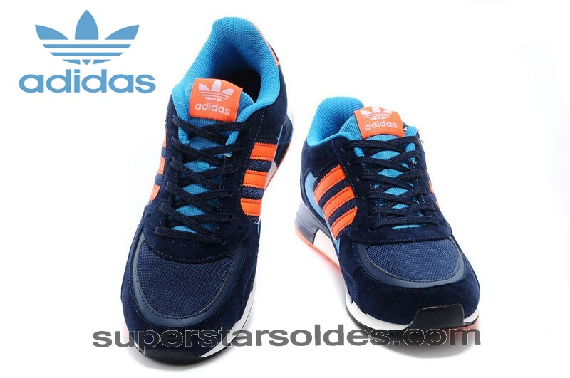 Irremplaçable Adidas Zx 850 Homme Suède Marine Orange Royal - Irremplaçable Adidas Zx 850 Homme Suède Marine Orange Royal-01-2