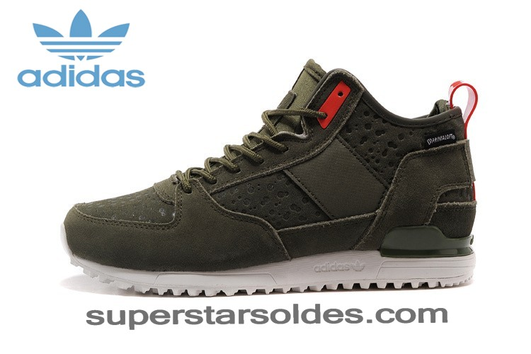 Irremplaçable Adidas Zx High Tops Homme Olive Rouge - Irremplaçable Adidas Zx High Tops Homme Olive Rouge-01-2