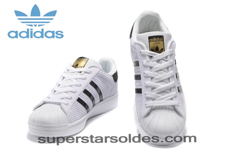 Chaussure Adidas Superstar 4d Marble 2016 c77127 Blanc Noir Bonne Qualité - Chaussure Adidas Superstar 4d Marble 2016 c77127 Blanc Noir Bonne Qualité-01-5