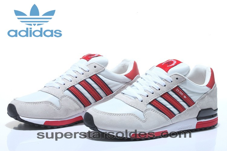 Large Choix Chaussure Adidas Zx 500 Aq5429 Retro Blanc Rouge - Large Choix Chaussure Adidas Zx 500 Aq5429 Retro Blanc Rouge-01-1