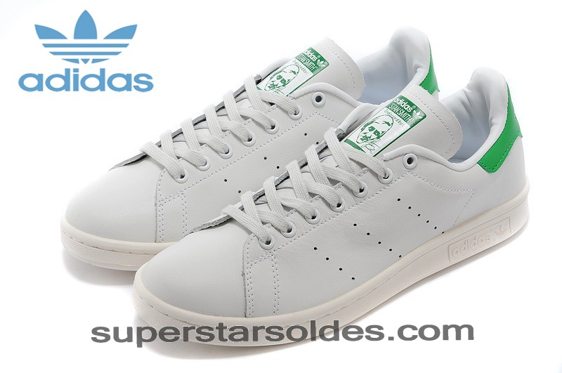 Adidas Originals The Stan Smith 2014 Homme Blanc Vert Indispensable - Adidas Originals The Stan Smith 2014 Homme Blanc Vert Indispensable-31