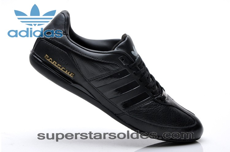 2015 Adidas Porsche Typ 64 Leather Casual Chaussures Noir Gold à Prix Affortable - 2015 Adidas Porsche Typ 64 Leather Casual Chaussures Noir Gold à Prix Affortable-31