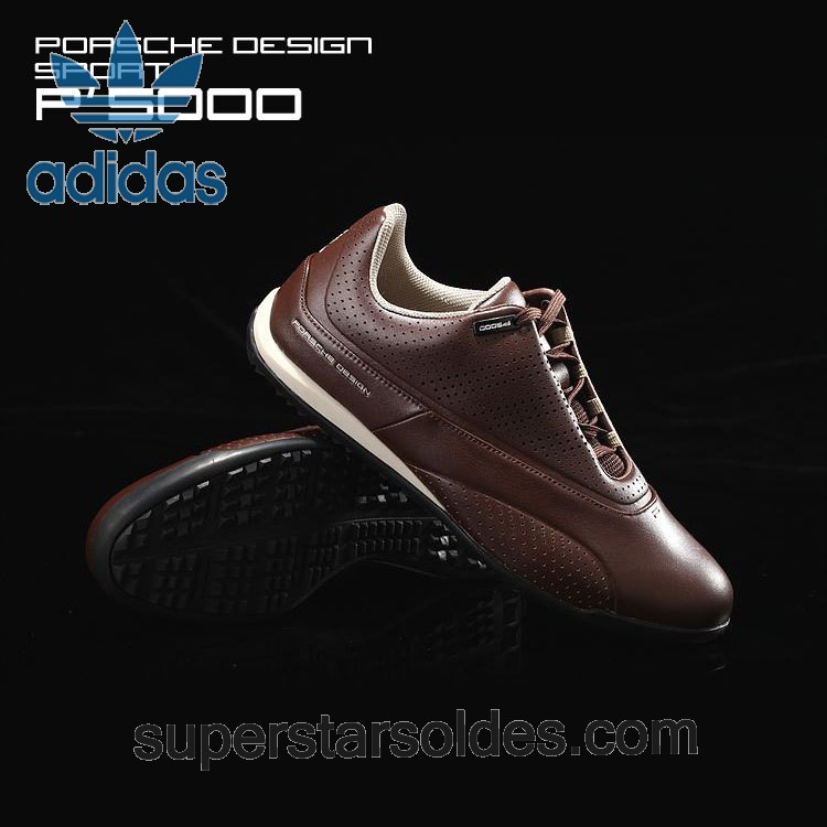 Adidas Porsche Design Golf Compound Leather Casual Chaussures All Brown à Prix Malin - Adidas Porsche Design Golf Compound Leather Casual Chaussures All Brown à Prix Malin-31