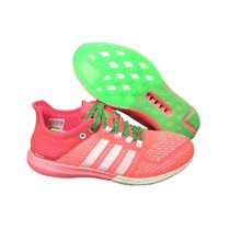 Bas Prix Boutique Femme Adidas Climachill Cosmic Boost Flash Rouge/Blanche/Flash Verte Chaussures De Course b44500-20