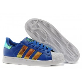 Haute Qualité Acheter Adidas Originals Classic Superstar Ss Bling Homme/Femme Casual Chaussures Marine/Or France d65614