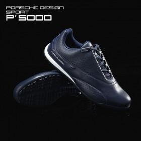 Adidas Porsche Design Sport Golf Compound Hommes Leather Casual Chaussures All Blue à Prix Malin