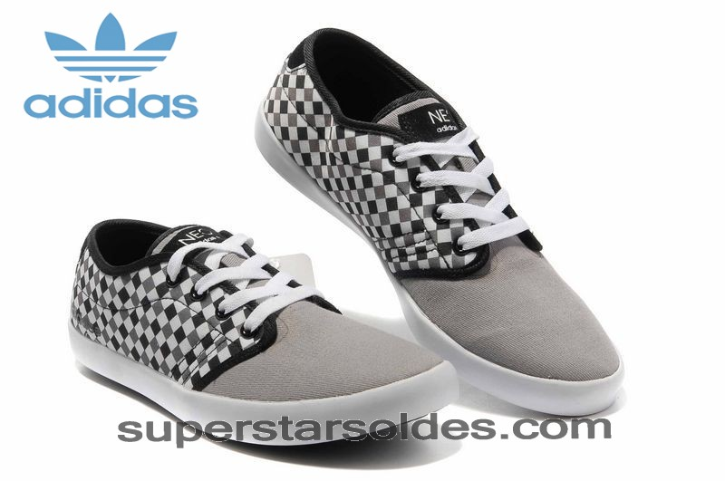 Adidas Neo Casual Low Homme Grid Gris Blanc à Prix Usine - Adidas Neo Casual Low Homme Grid Gris Blanc à Prix Usine-01-2