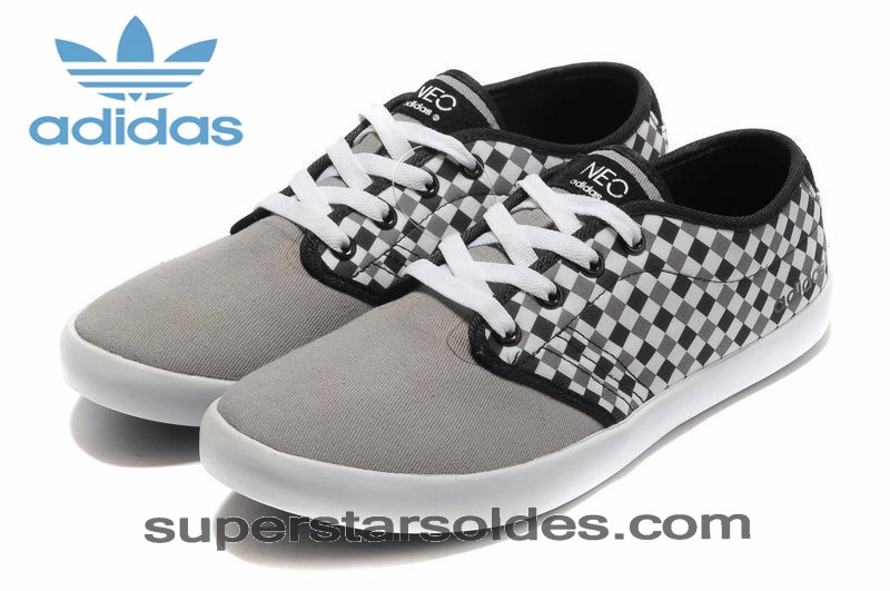 Adidas Neo Casual Low Homme Grid Gris Blanc à Prix Usine - Adidas Neo Casual Low Homme Grid Gris Blanc à Prix Usine-31