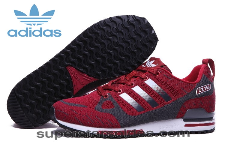 Prix Abordable Chaussure Adidas Zx 750 Flyknit Homme Rouge Argent - Prix Abordable Chaussure Adidas Zx 750 Flyknit Homme Rouge Argent-31
