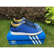 Prix d'Amis Adidas Stan Smith Homme Chaussure Flyknit Bleu Royal-20