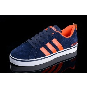 Faible Prix Achat Homme/Femme Adidas Neo Pace Vs Low Marine/Orange Chaussures France f98361